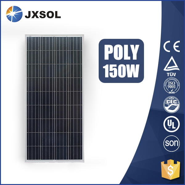 High quality photovoltaic pv poly solar panel 150w with CE TUV certificate and cheap price