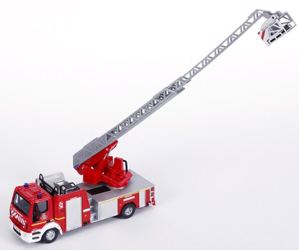 customized 1:50 Fire engines model car toy