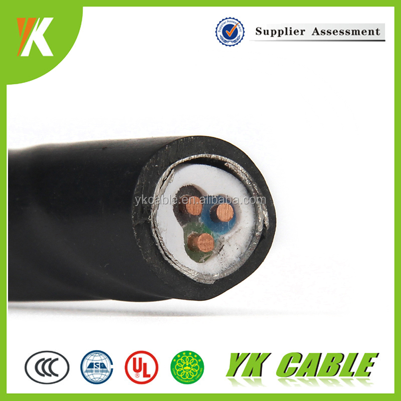 0.6/1kv cu/xlpe/swa/pvc power supply 3x10mm2 cable