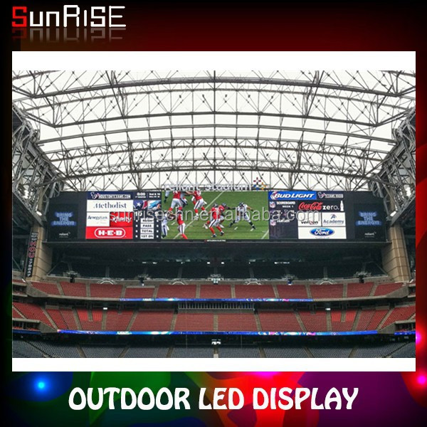 new ball park splendid high quality waterproof full color led advertising display screen