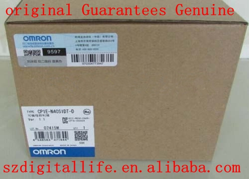 100%NEW OMRON CP1E-N40S1DT-D PLC Unit DC24V 24 DI 16 DO with programming cable