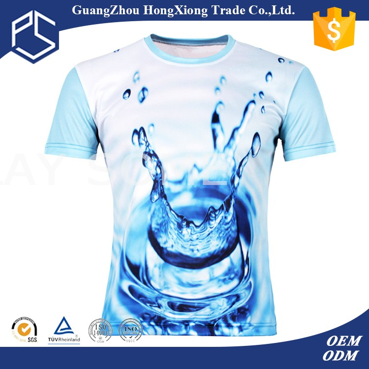 Chinese cheap new pattern printed sports t-shirts