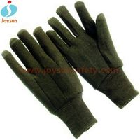 Good!Safety equipment cotton canvas writing glove