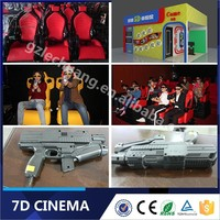 Hydraulic / Electric System Dynamic Gun Shooting Motion 5D 6D 7D Cinema Manufacture