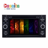 "Dasaita Double Din Touch 7"" Car DVD Player for Ford with Android 6.0 Octa Core 2GB Ram AutoRadio Multimedia GPS Navigation Wifi"
