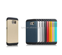 Slim Colorful Armor Case For Samsung galaxy s6 Cover