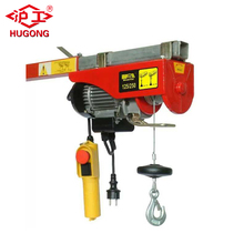 cheap price small 110v mini cable hoist electric winch