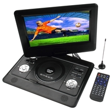 10 inch TFT LCD Screen Digital Multimedia Portable DVD with Card Reader & USB Port, Support TV & Game Function