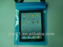 PVC plastic waterproof case for Ipad