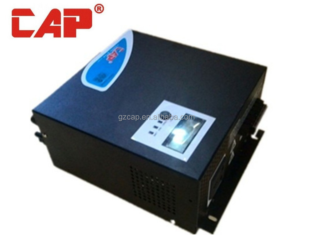 CAP hybrid solar inverter developed by CAP factory passed CE certification, inverter 12v 220v 1000w 40a inverter power saver