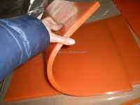 polyurethane front snow blades for tractors