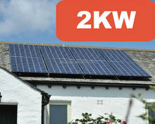 Cheap price HIGH EFFICIENCY HOME USING 2KW SOLAR SYSTEM