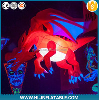 outdoor events red inflatable dragon for party decoration