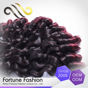 Newest brazilian fumi hair remy red fumi hair extensions