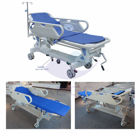 hydraulic stretcher for emergency