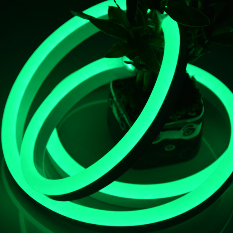 led neon flex tube rope light for holiday decoration