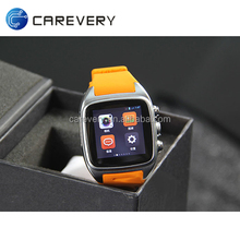 Android 4.4 smart watch and phone build in 3G WIFI watch wrist mobile phone cheap price China