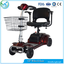 Outdoor durable electric mobility scooter for disabled people