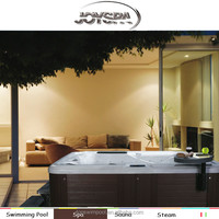 Christmas promotion japanese used bathtub rectangular deluxe hot tub outdoor spa made in china with hot tub spa ladder