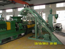 color masterbatch twin screw extruder pelletizing