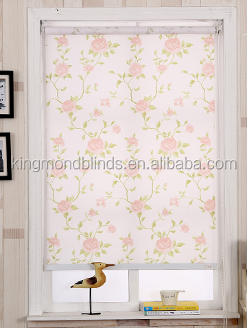 3d roller blinds chain printed roller blinds