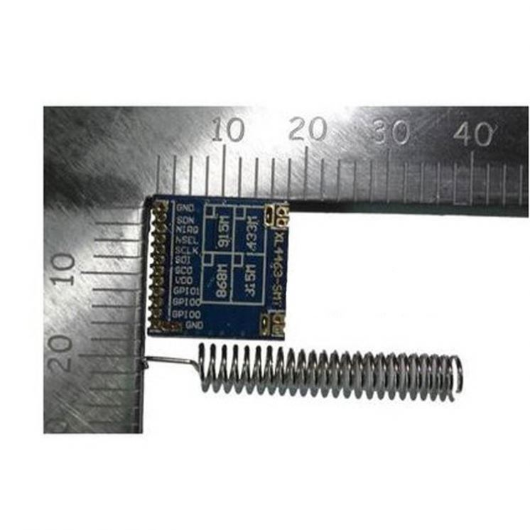 Ultra-small SI4463 wireless module far distance high power strong through-wall si4463 / 433M / 2000m