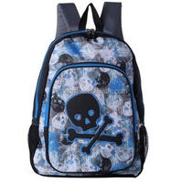 Waterproof School Bag for Teenage Student with Embroidery