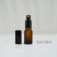Empty Bread Oil Amber glass Nasal Spray Bottle with Pump