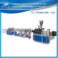 LIANSHUN cable pipe making equipment with PVC material