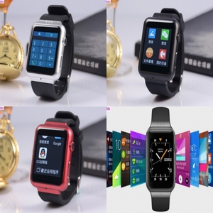 NO.331 - Android Watch Phone WCDMA 3G Wifi GPS Bluetooth Smart Watchphone Dual Core 1.2GHz RAM 512MB ROM 4GB HD Definition Touch