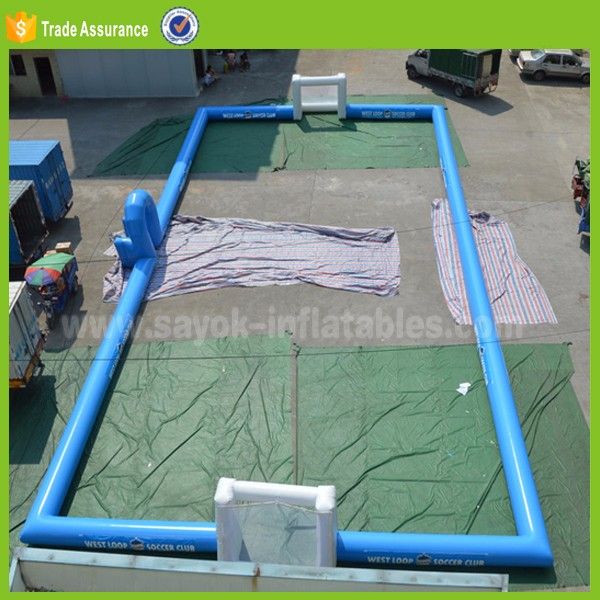 inflatable snooker football field table game inflatable snookball tennis sale