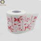 Eco-friendly Standard size toilet tissue paper printed with Christmas style