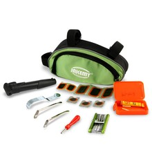 Low price foldable bicycle maintenance repair tools tire repair kit