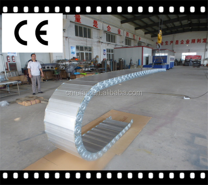 TL65 II steel cable carrier track metal drag chain