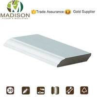 Flooring accessories laminated mdf skirting board moulding