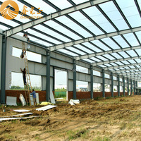 Qingdao prefabricated steel structure warehouse