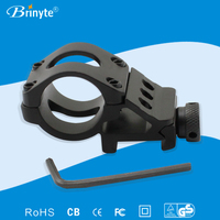 Brinyte Y007 18mm Picatinny Rail Mount Flashlight Mount
