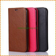 Luxury PU leather wallet flip cover case for samsung galaxy S8