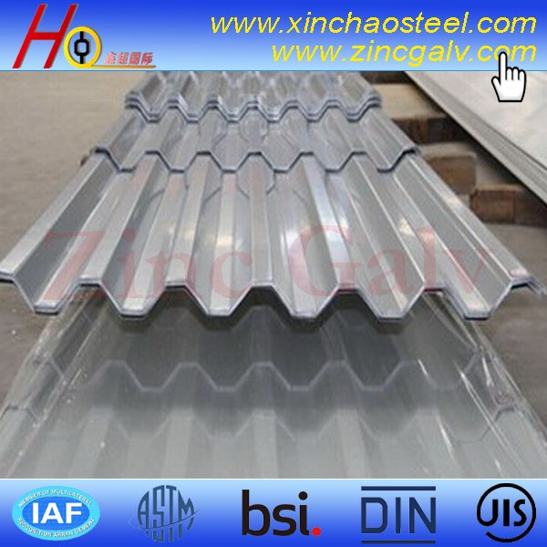 ShouSteel corrugated galvanized steel roofing