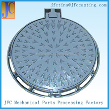 EN124 Heavy Duty Ductile Iron Sewer Round Manhole Cover