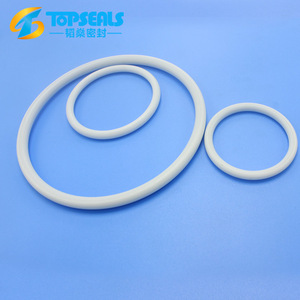 topseals low temperature resistance white teflon rubber o ring