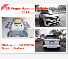 Fit for 2014 -UP Range -rover VOGUE HAMANN high quality Best price PP body kits bumper