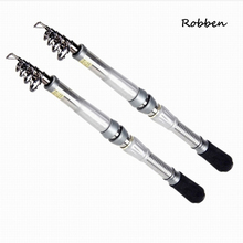 Telescopic Graphite Carbon Fiber Spinning Freshwater Travel Fishing High Quality Portable Pocket Fishing Rod