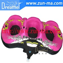 outdoor PVC inflatable tube, inflatable water ski tube / snow tube / snow slide