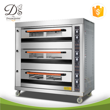 Bakery Equipment Commercial 3-deck 9-trays Electric Bread Oven Cake Baking Machine