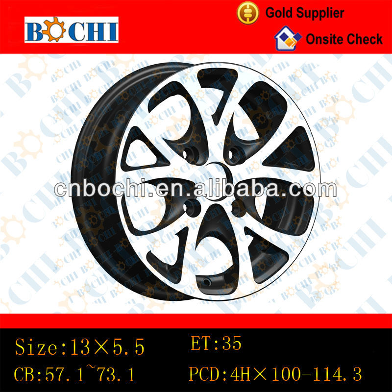 13X5.5 alloy wheels for car with new design and lower price