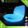 Remote control battery operated led light sofa rgb color changed led light leisure sofa
