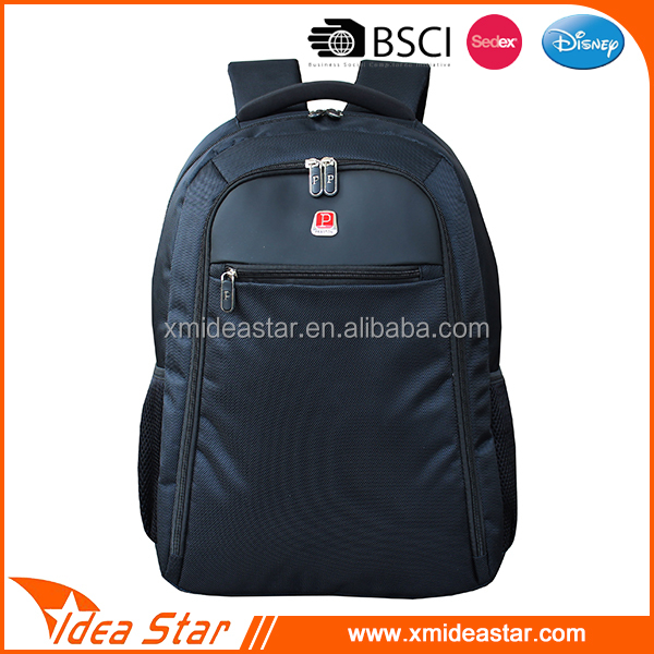 Best selling large capacity OEM black 1680D travel backpack bag for men