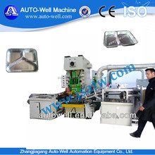 aluminum foil airline catering machine for royal catering