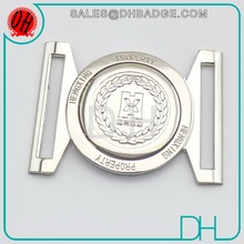 Custom Sterling Silver Material Santa Toyata Logo Head Belt Buckle
